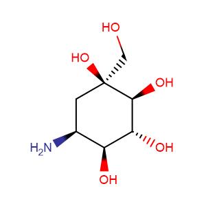 Valiolamine,CAS No. 83465-22-9.