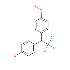 1-methoxy-4-[2,2,2-trichloro-1-(4-methoxyphenyl)ethyl]benzene,CAS No. 72-43-5.