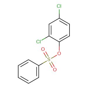 (2,4-dichlorophenyl) benzenesulfonate,CAS No. 97-16-5.