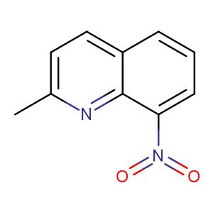 2-methyl-8-nitroquinoline,CAS No. 881-07-2.