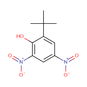 2-tert-butyl-4,6-dinitrophenol,CAS No. 1420-07-1.