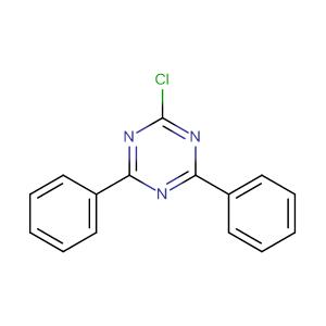 2-chloro-4,6-diphenyl-1,3,5-triazine,CAS No. 3842-55-5.