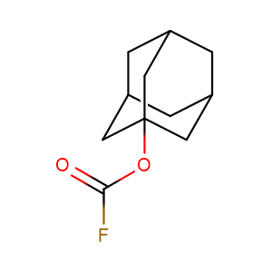 1-adamantyl carbonofluoridate,CAS No. 62087-82-5.