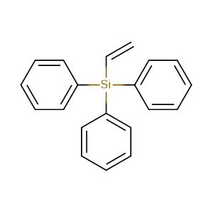 ethenyl(triphenyl)silane,CAS No. 18666-68-7.