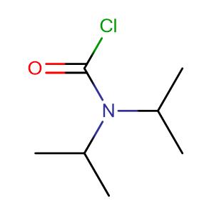 N,N-di(propan-2-yl)carbamoyl chloride,CAS No. 19009-39-3.
