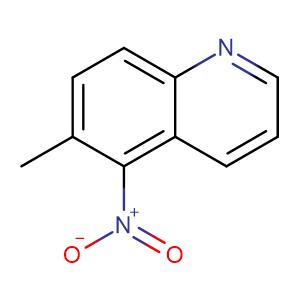 6-methyl-5-nitroquinoline,CAS No. 23141-61-9.