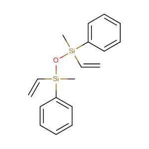 ethenyl-(ethenyl-methyl-phenylsilyl)oxy-methyl-phenylsilane,CAS No. 2627-97-6.