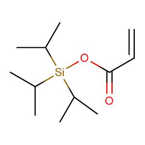 tri(propan-2-yl)silyl prop-2-enoate,CAS No. 157859-20-6.