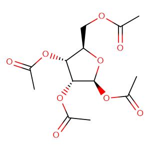 (2R,3R,4R,5S)-4,5-bis(acetyloxy)-2-[(acetyloxy)methyl]tetrahydro-3-furanyl acetate,CAS No. 13035-61-5.
