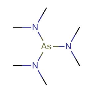 N-[bis(dimethylamino)arsanyl]-N-methylmethanamine,CAS No. 6596-96-9.