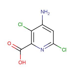 4-amino-3,6-dichloropyridine-2-carboxylic acid,CAS No. 150114-71-9.
