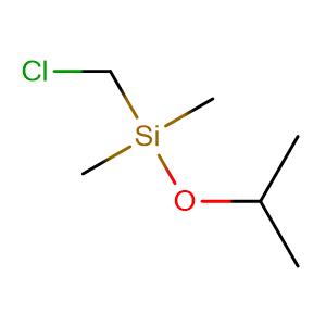 chloromethyl-dimethyl-propan-2-yloxysilane,CAS No. 18171-11-4.