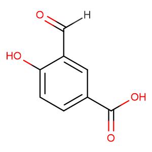 3-formyl-4-hydroxybenzoic acid,CAS No. 584-87-2.