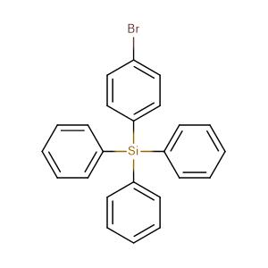 (4-bromophenyl)-triphenylsilane,CAS No. 18737-40-1.