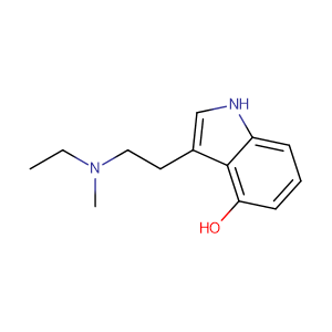 N-Ethyl-4-hydroxy-N-methyltryptamine,CAS No. 77872-41-4.