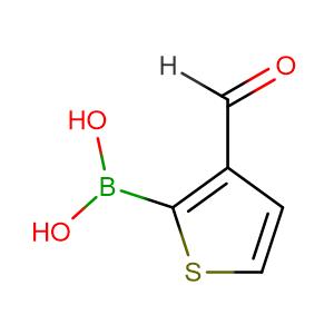 3-Formylthiophene-2-boronic acid,CAS No. 17303-83-2.