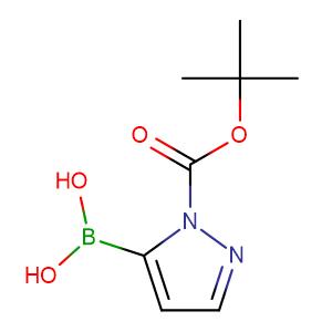 1-(t-Butoxycarbonyl)pyrazole-5-boronic acid,CAS No. 1217500-54-3.