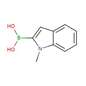 (1-Methyl-1H-indol-2-yl)boronic acid,CAS No. 191162-40-0.