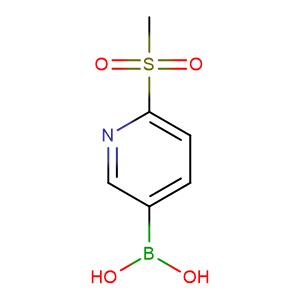 (6-(Methylsulfonyl)pyridin-3-yl)boronic acid,CAS No. 1088496-41-6.
