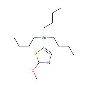 2-Methoxy-5-(tributylstannyl)thiazole,CAS No. 1025744-42-6.