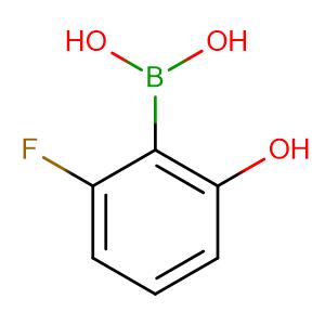 2-Fluoro-6-hydroxyphenylboronic acid,CAS No. 1256345-60-4.