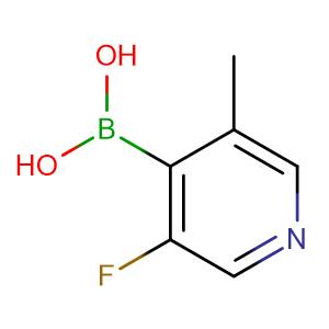 3-Fluoro-5-methylpyridine-4-boronic acid,CAS No. 1072952-44-3.