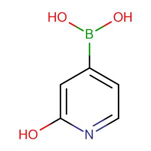 2-Hydroxypyridine-4-boronic acid,CAS No. 902148-83-8.