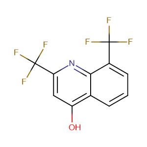 2,8-Bis(trifluoromethyl)-4-hydroxyquinoline,CAS No. 35853-41-9.