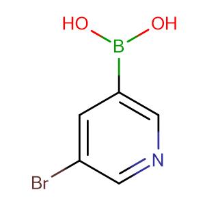 (5-bromopyridin-3-yl)boronic acid,CAS No. 452972-09-7.