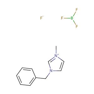 1-Benzyl-3-methylimidazolium tetrafluoroborate,CAS No. 500996-04-3.