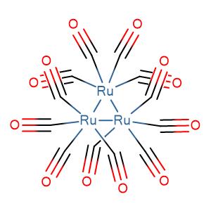tri-ruthenium(0)dodecacarbonyl,CAS No. 15243-33-1.