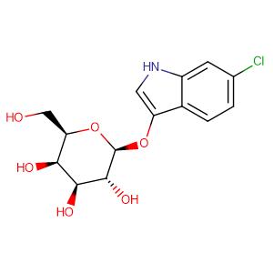 6-chloro-1H-indol-3-yl-beta-D-galactopyranoside,CAS No. 138182-21-5.