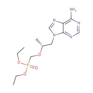 (R)-9-[2-(Diethylphosphonomethoxy)propyl] Adenine,CAS No. 180587-75-1.