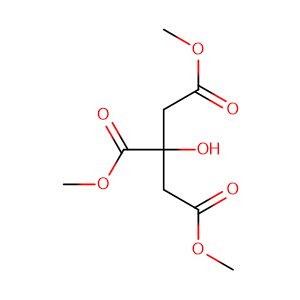 Trimethyl citrate,CAS No. 1587-20-8.