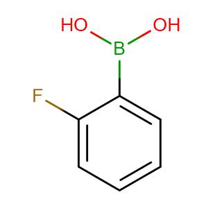 2-Fluorophenylboronic acid,CAS No. 1993-03-9.