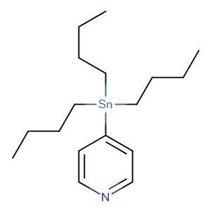 4-(1,1,1-tributylstannyl)pyridine,CAS No. 124252-41-1.