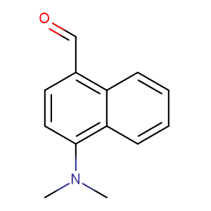 4-dimethylamino-1-naphthylcarboxaldehyde,CAS No. 1971-81-9.