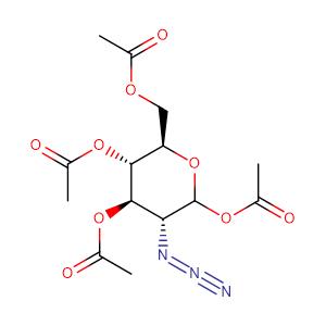 2-azido-2-deoxy-3,4,6-tri-O-acetyl-α,β-D-glucopyranosyl acetate,CAS No. 171032-74-9.