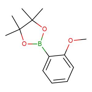 2-(2-Methoxyphenyl)-4,4,5,5-tetramethyl-1,3,2-dioxaborolane,CAS No. 190788-60-4.