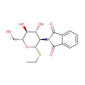 ethyl 2-deoxy-2-phthalimido-1-thio-β-D-glucopyranoside,CAS No. 130539-43-4.