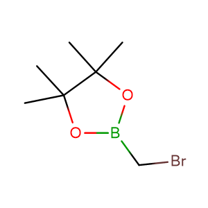 2-(bromomethyl)-4,4,5,5-tetramethyl-1,3,2-dioxaborolane,CAS No. 166330-03-6.