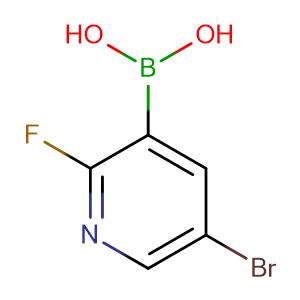 5-Bromo-2-fluoropyridine-3-boronic acid,CAS No. 501435-91-2.