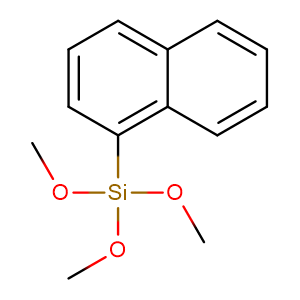 Trimethoxy(naphthalen-1-yl)silane,CAS No. 18052-76-1.
