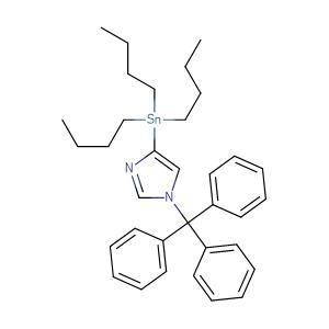 4-(tributylstannyl)-1-triphenylmethyl-1H-imidazole,CAS No. 208934-35-4.