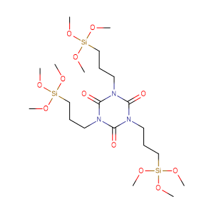 tris[3-(trimethoxysilyl)propyl]isocyanurate,CAS No. 26115-70-8.