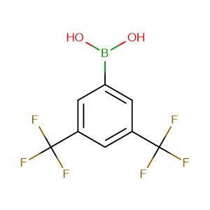3,5-Bis(trifluoromethyl)benzeneboronic acid,CAS No. 73852-19-4.