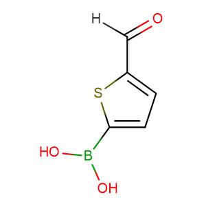 5-Formyl-2-thiopheneboronic acid,CAS No. 4347-33-5.