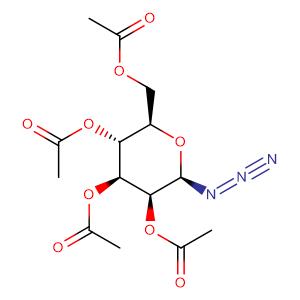 2,3,4,6-tetra-O-acetyl-1-azido-1-deoxy-β-D-mannopyranose,CAS No. 65864-60-0.