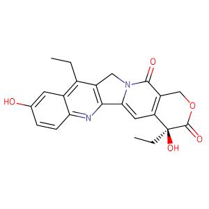 (4S)-4,11-diethyl-4,9-dihydroxy-1H-pyrano[3',4':6,7]indolizino[1,2-b]quinoline-3,14(4H,12H)-dione,CAS No. 86639-52-3.