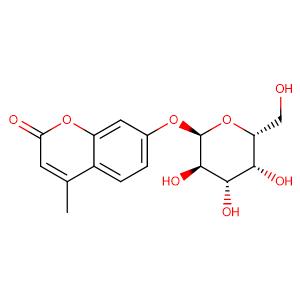 4-methylumbellifenyl ±-D-galactopyranoside,CAS No. 38597-12-5.